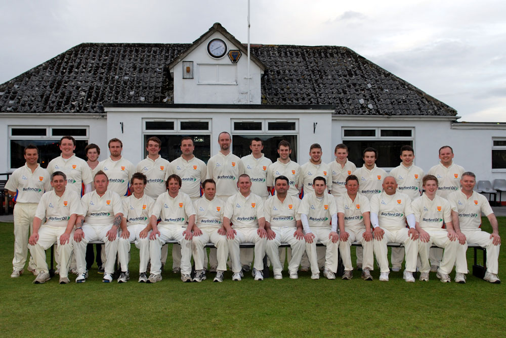 Steeton Squad Photo 2012