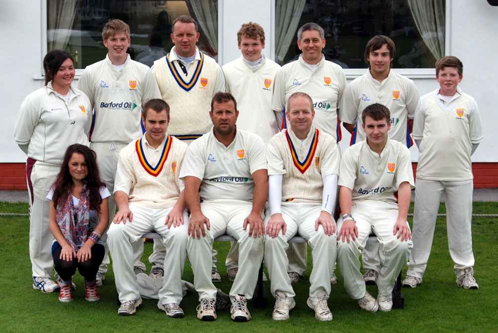 Steeton 3rd XI 2012 - League Champions
