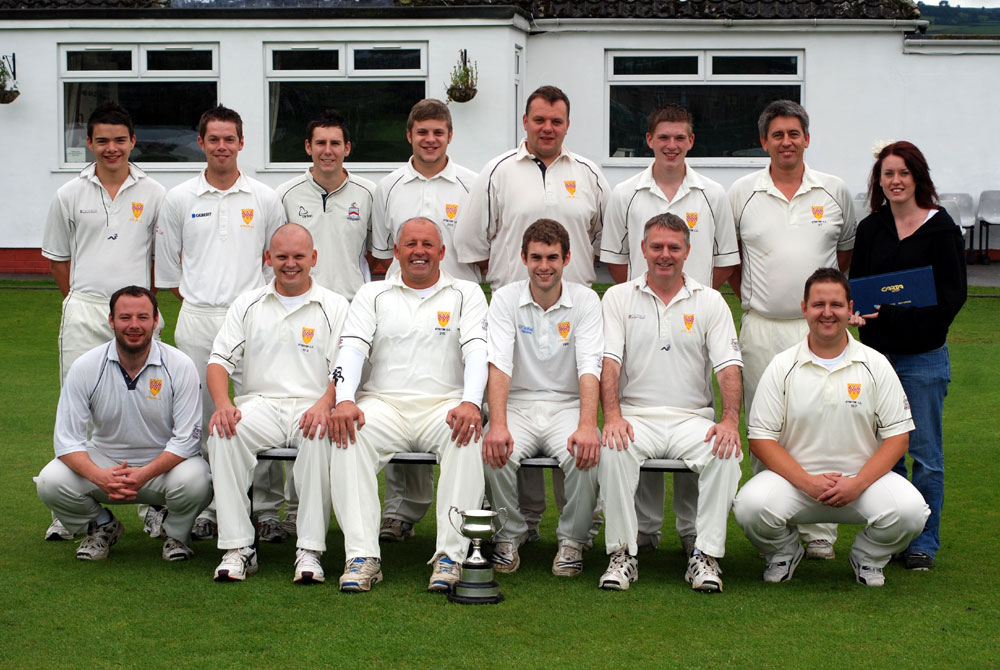 Steeton 2nd XI League Champions 2010
