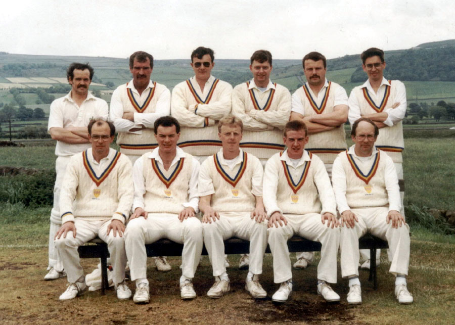Steeton 1st XI 1991 - Cleckheaton Motors League Champions