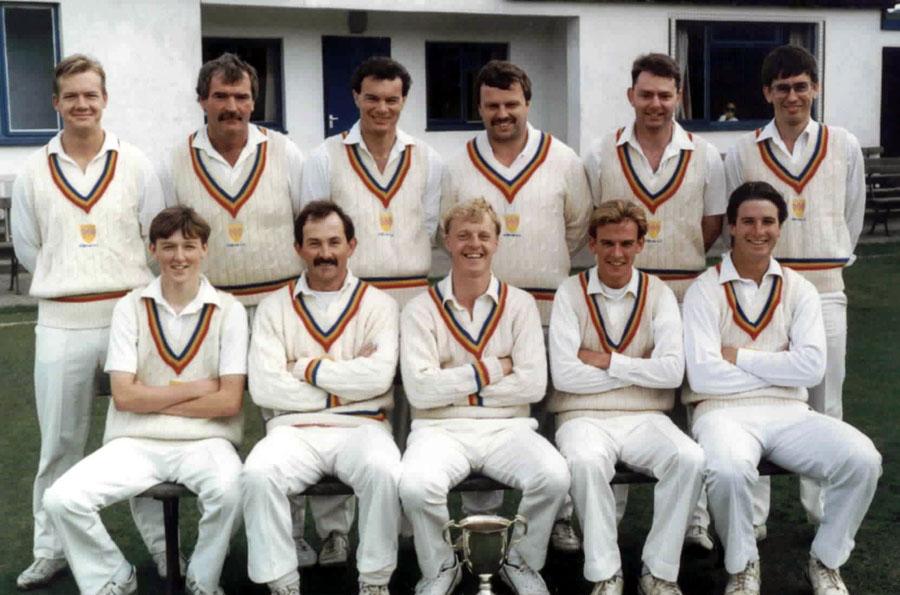 Steeton 1st XI 1992 - Division B Champions