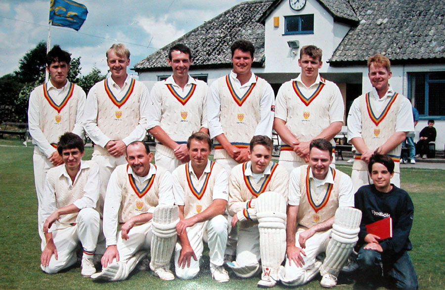 Steeton 1st XI 1995 - Division B Champions