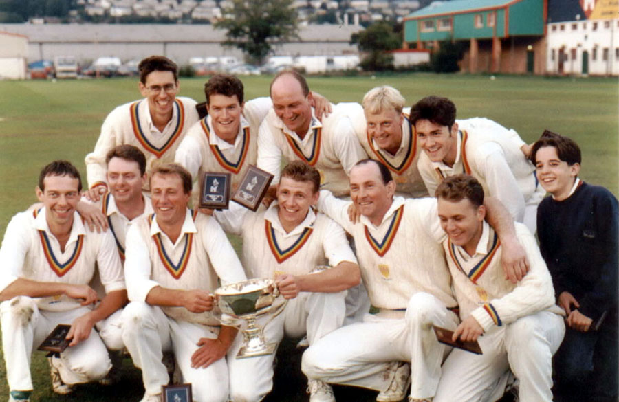 Steeton 1st XI 1995 - Keighley Cup Winners