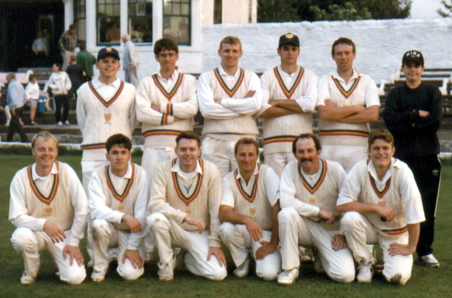 Steeton 1st XI 1996 - Keighley Cup