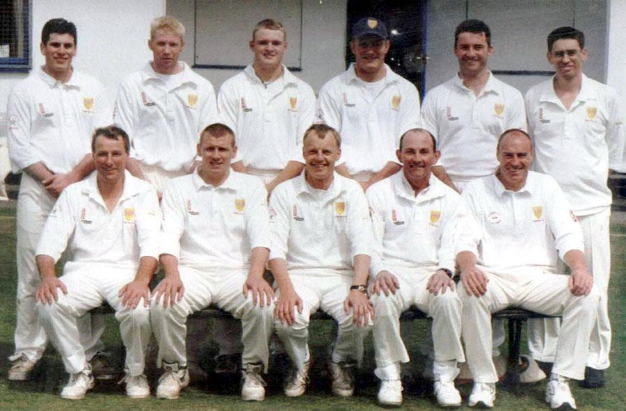 Steeton 1st XI 1999 - League Champions & Waddilove Cup Winners