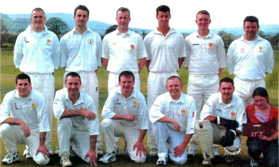 Steeton 1st XI 2004 - Waddilove Cup Runners-up