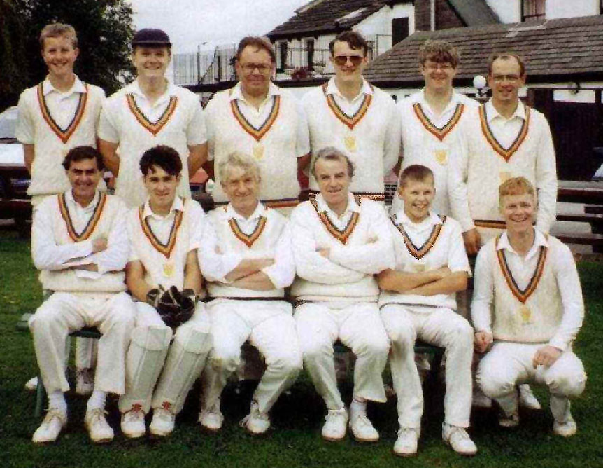 Steeton 2nd XI 1992 - Division B Champions