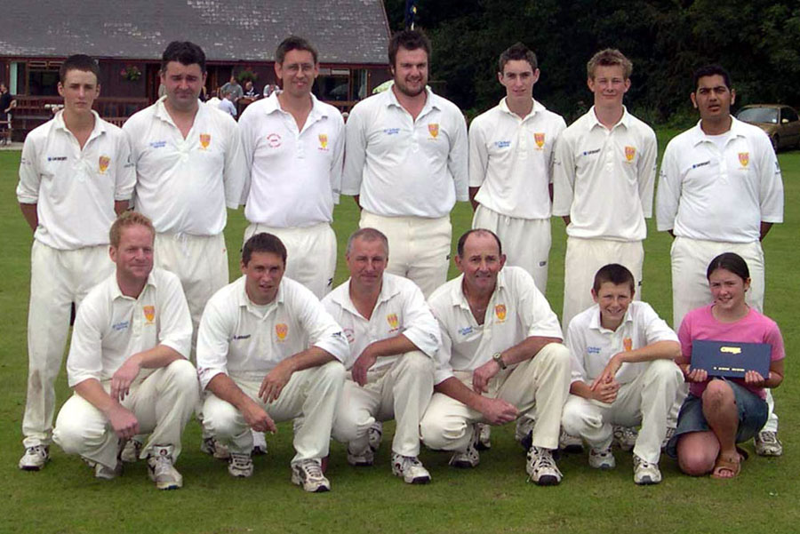 Steeton 2nd XI 2004 - League Champions & Birtwhistle Cup Runners-up