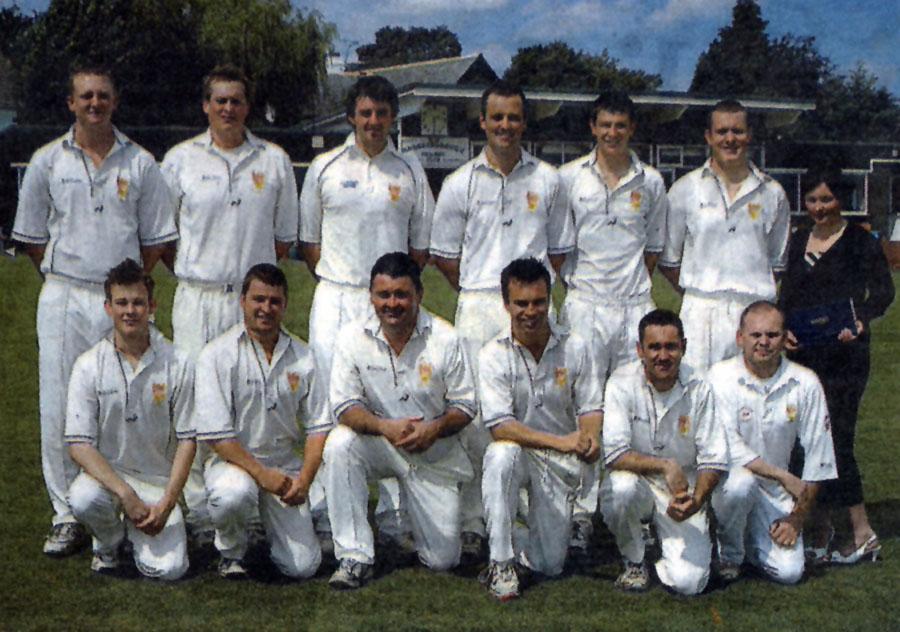 Steeton 1st XI 2007 Waddilove Cup