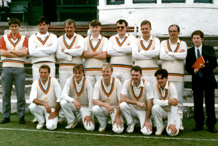 Steeton 1st XI 1993 - Keighley Cup Winners 29/8/1993